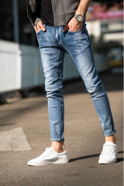 Washed Skinny Jeans