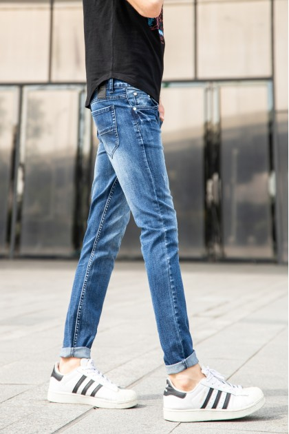 Arrow Skinny Denim Jeans