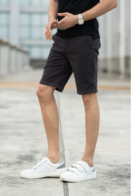 Gerome Shorts Dark Grey