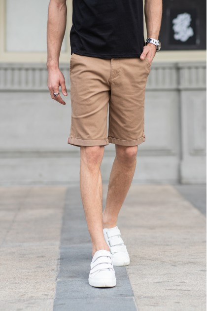 Gerome Khaki Shorts