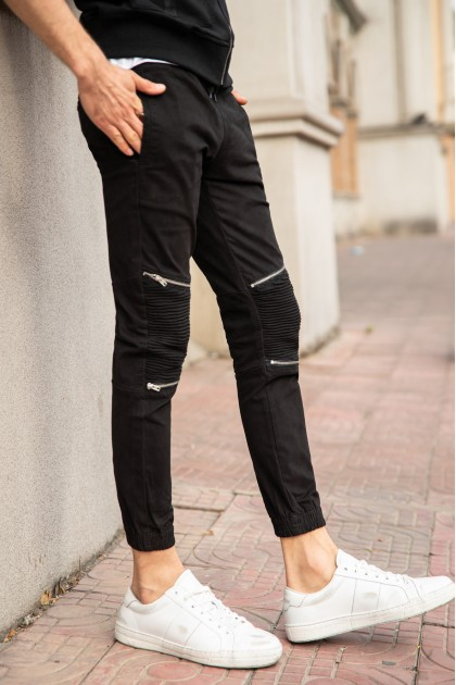 REBEL Zipper C.Black