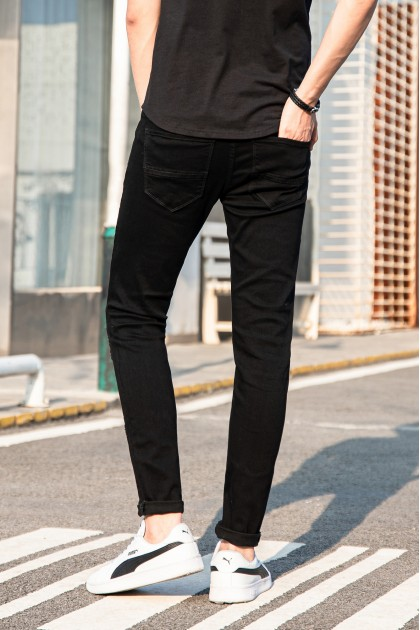 Black Star Skinny Jeans