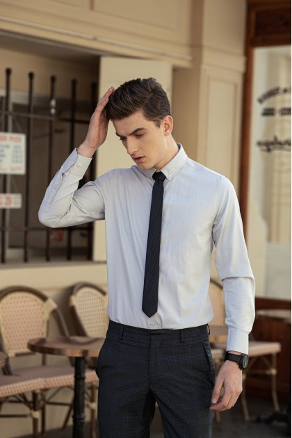Austin White Formal Shirt